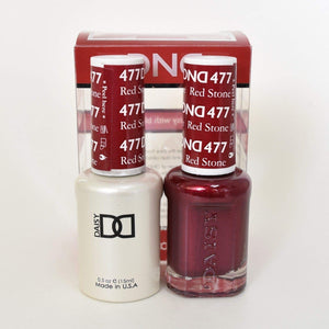 DND Gel & Matching Polish - Duo - (Red Stone - DD477)