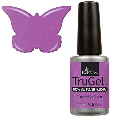 Ez Flow TruGel LED/UV Gel Polish - 14 mL (Tempting Hearts - EZTG42562)