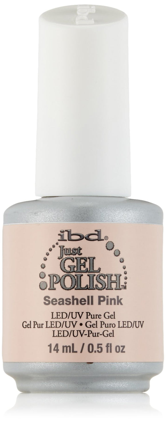 IBD Just Gel Polish - 0.5 oz (Seashell Pink  - IBD56513)