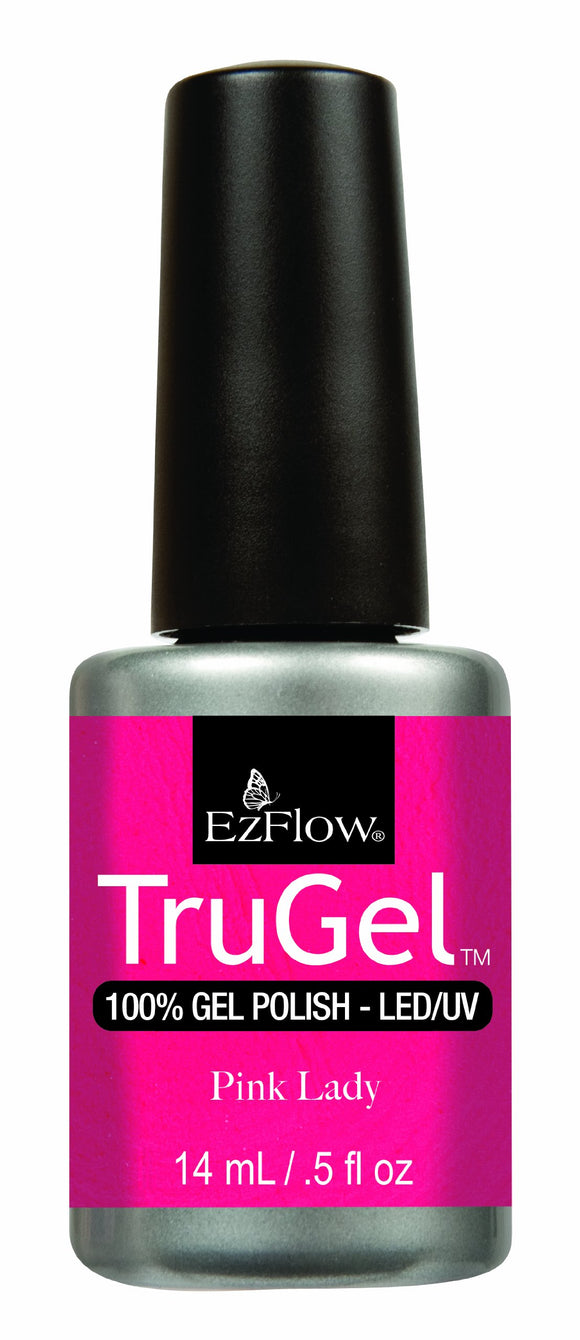 Ez Flow TruGel LED/UV Gel Polish - 14 mL (Pink Lady - EZTG42470)