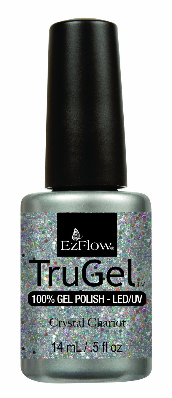 Ez Flow TruGel LED/UV Gel Polish - 14 mL (Crystal Chariot - EZTG42479)