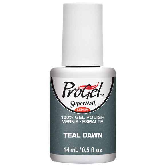 SuperNail ProGel - 0.5 Oz (Teal Dawn - SN82204)