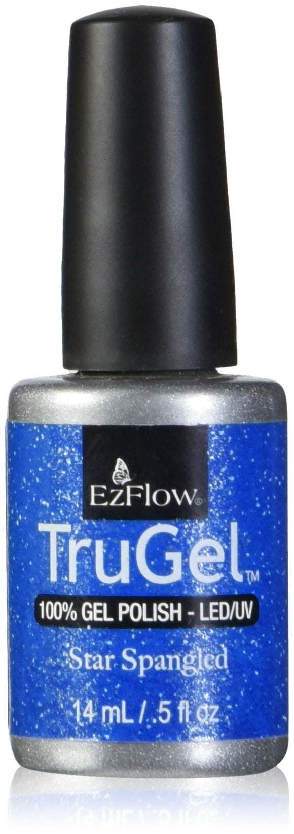 Ez Flow TruGel LED/UV Gel Polish - 14 mL (Star Spangled - EZTG42442)