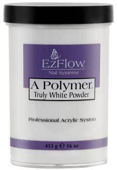 A Polymer Powder - 16 Oz (Truly White - EZ66059)