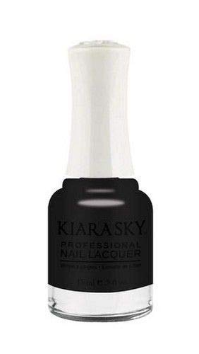 Kiara Sky Nail Lacquer - 15 mL (Black To Black - KSN435)