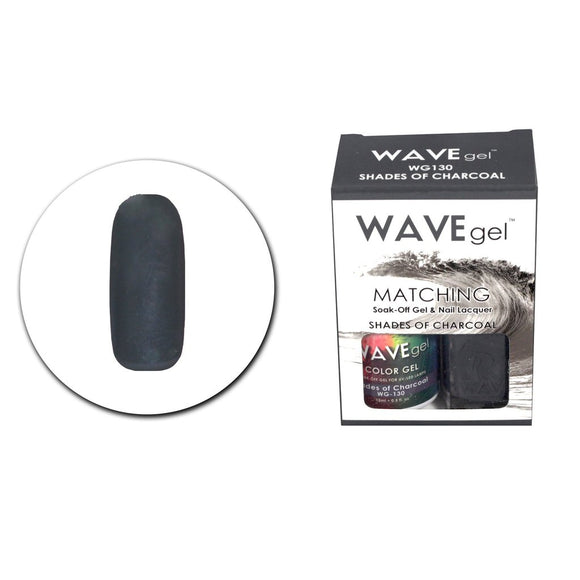 Wave Gel Matching Duo (Shades Of Charcoal - WG130)