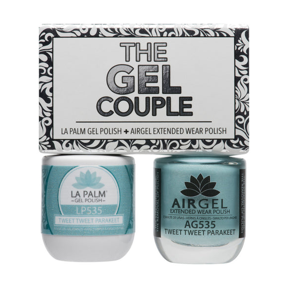 La Palm Gel Couple Duo - 14 mL (Tweet Tweet Parakeet - TGC535)