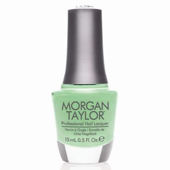 Morgan Taylor Professional Nail Lacquer  - 15 mL (Supreme In Green  - MT50084)