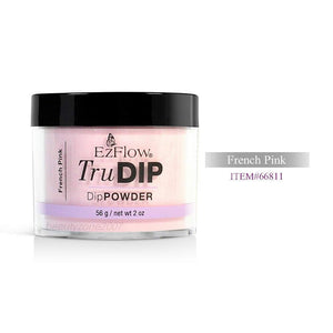 EzFlow TruDIP Powder French Pink - 4 Oz (French Pink - EZFTD66811)