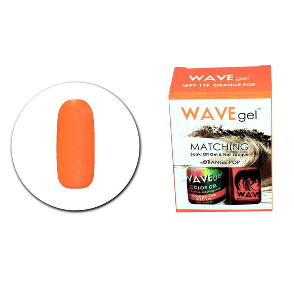 Wave Gel Matching Duo (Orange Pop - W97119)