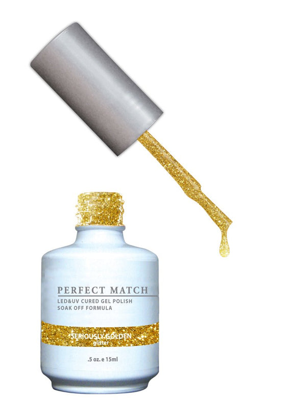 LeChat Perfect Match Nail Polish - 0.5 Oz (Seriously Golden - PMS056)