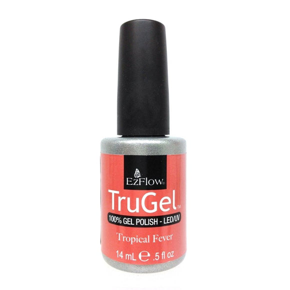 Ez Flow TruGel LED/UV Gel Polish - 14 mL (Tropical Fever - EZTG42411)