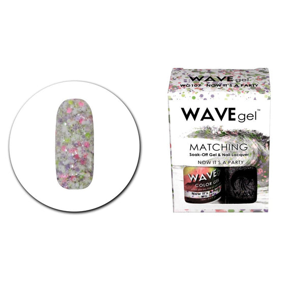 Wave Gel Matching Duo (Now It's A Party - WG107)