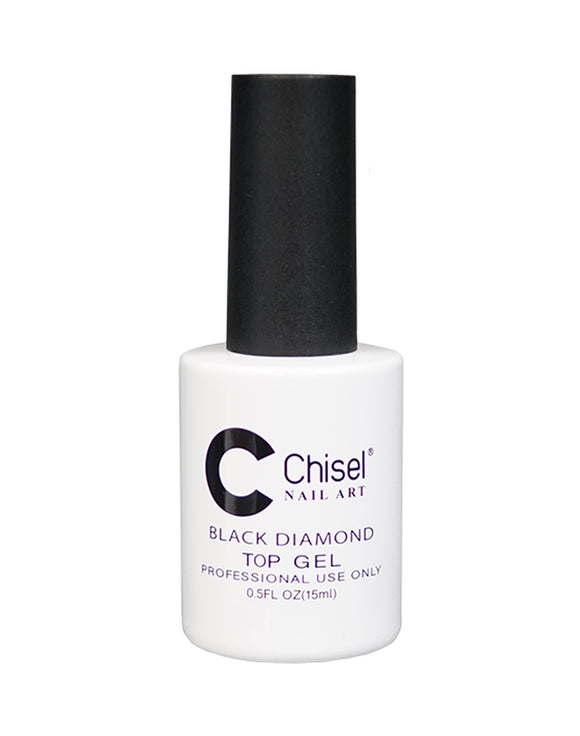 Chisel Black Diamond Top Gel - 12 mL (Top Gel - CHBDTG)