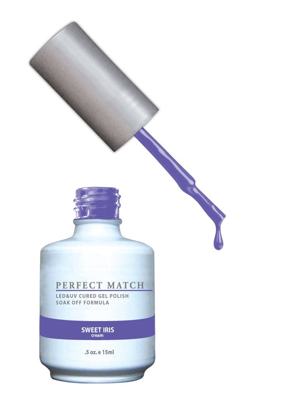 LeChat Perfect Match Nail Polish - 0.5 Oz (Sweet Iris - PMS148)