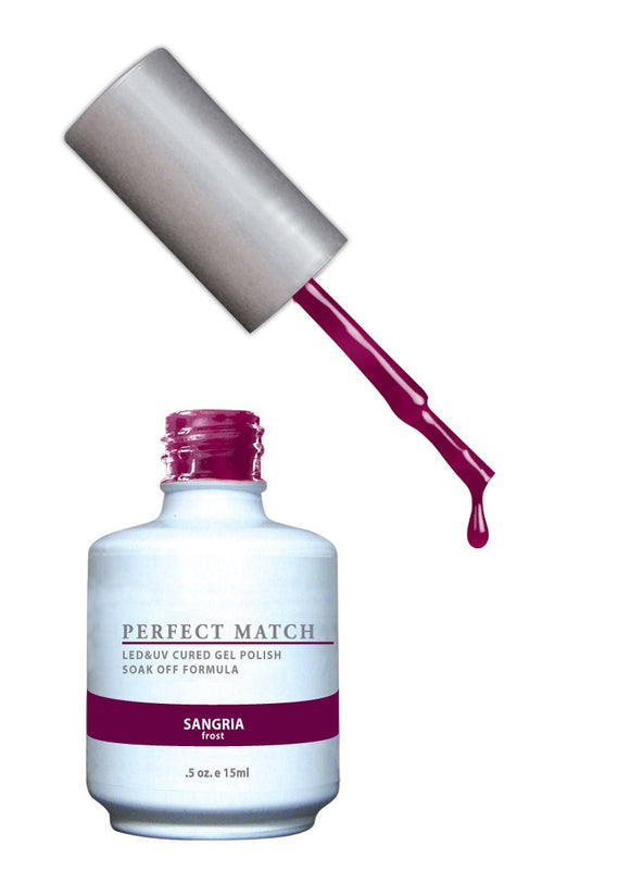 LeChat Perfect Match Nail Polish - 0.5 Oz (Sangria - PMS012)