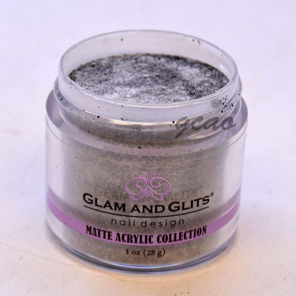 Glam And Glits Matte Acrylic Powder - 1 Oz (Black Forest Cake - MAT638)