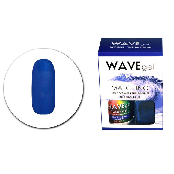 Wave Gel Matching Duo (The Big Blue - WCG55)