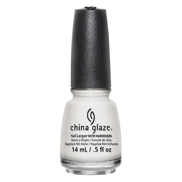 China Glaze Lacquer - 14 mL (White Out - CG70276)