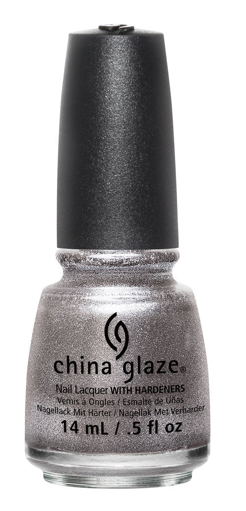 China Glaze Lacquer - 14 mL (Check Out The Silver Fox - CG82709)