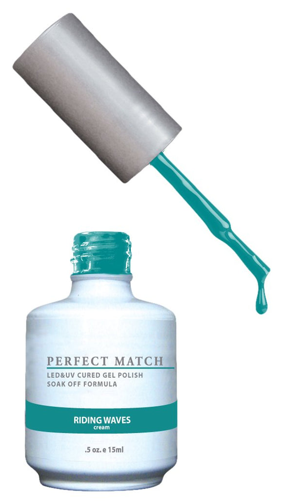 LeChat Perfect Match Nail Polish - 0.5 Oz (Riding Waves - PMS175)