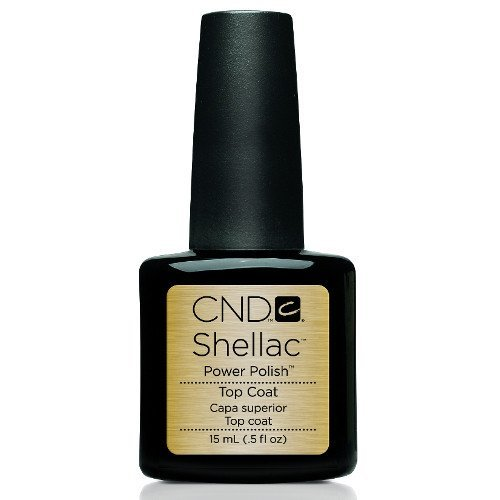 CND Shellac UV/LED Top Coat -15 mL (Original Top Coat-CND40403)