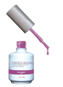 LeChat Perfect Match Nail Polish - 0.5 Oz (Wild Berry - PMS131)