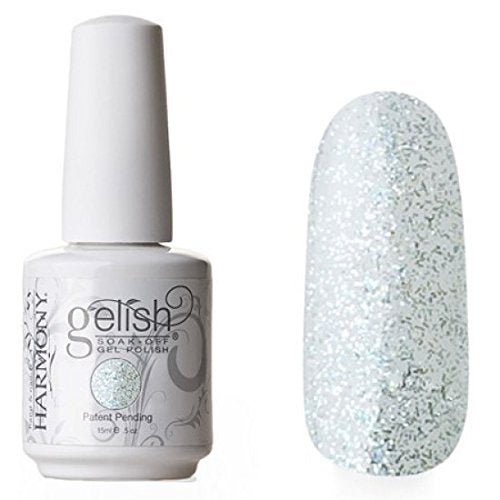 Gelish Soak-Off Gel (O) - 15 mL (Emerald Dust - GL01400, 0.5 Oz)