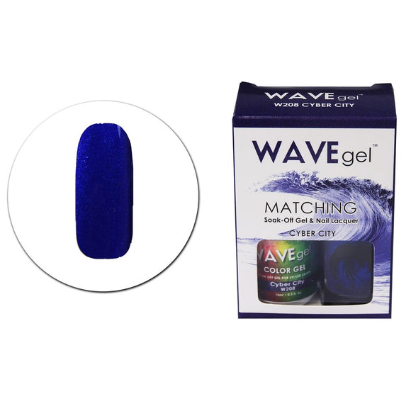 Wave Gel Matching Duo (Cyber City - W208)