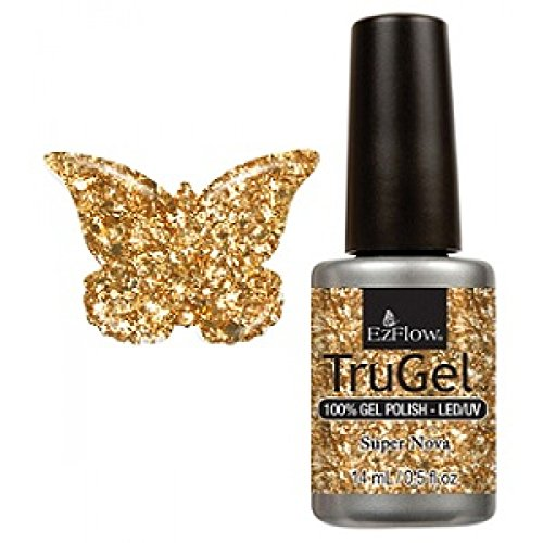 Ez Flow TruGel LED/UV Gel Polish - 14 mL (Super Nova - EZTG42529)