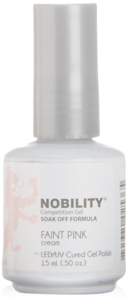 LeChat Nobility Gel Polish - 15 mL (Faint Pink - NBGP86)