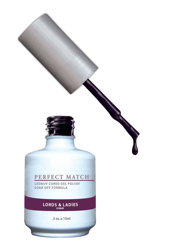LeChat Perfect Match Nail Polish - 0.5 Oz (Lords and Ladies - PMS078)