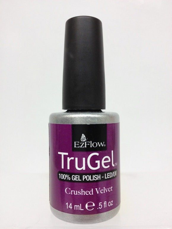 Ez Flow TruGel LED/UV Gel Polish - 14 mL (Crushed Velvet - EZTG42417)