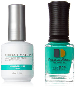 LeChat Perfect Match Nail Polish - 0.5 Oz (Wanderlust - PMS155)