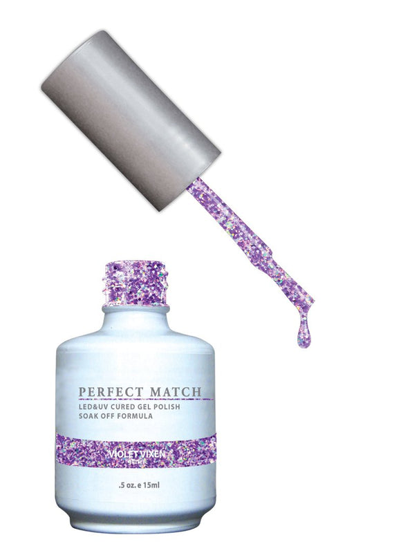 LeChat Perfect Match Nail Polish - 0.5 Oz (Violet Vixen - PMS136)