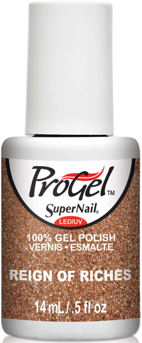 SuperNail ProGel - 0.5 Oz (Reign Of Riches - SN81605)