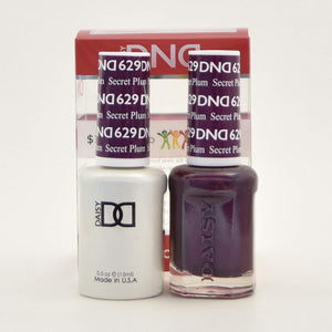 DND Gel & Matching Polish - Duo - (Secret Plum - DD629)