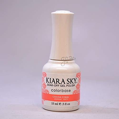 Kiara Sky Gel Soak-Off Gel Polish - 15 mL (Cocoa Coral - KSG419)