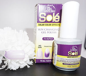 IBD Just Gel Polish- 0.5 fl oz- Solé- Solar Color Effects- Purple