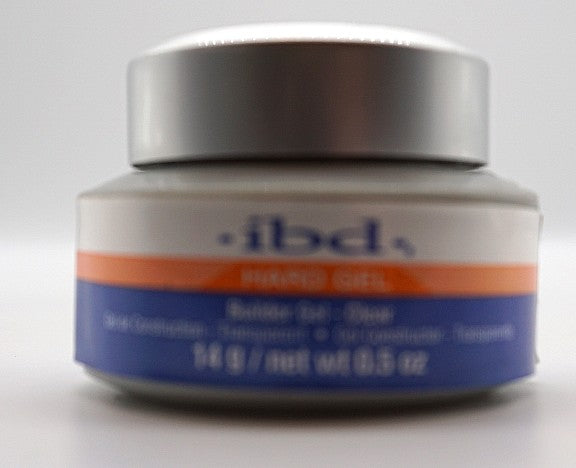 IBD- Hard Gel- Builder Gel- Clear- 0.5 oz