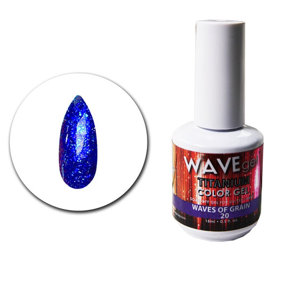 Wave Gel Titanium Collection- Waves of Grain- 15mL
