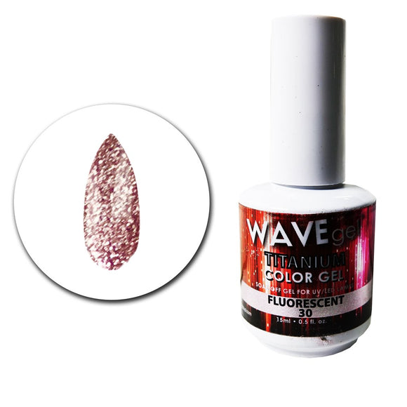 Wave Gel Titanium Collection- Flourescent- 15mL