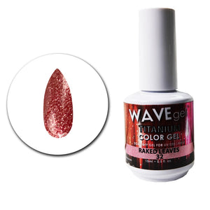 Wave Gel Titanium Collection- Raked Leaves- 15mL
