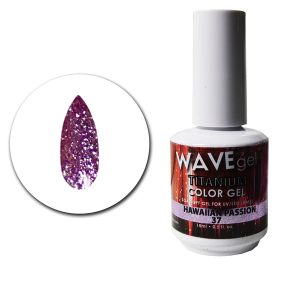 Wave Gel Titanium Collection- Hawaiian Passion- 15mL