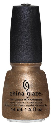 China Glaze Lacquer - 14 mL (Goldie But Goodie  - CG81349)