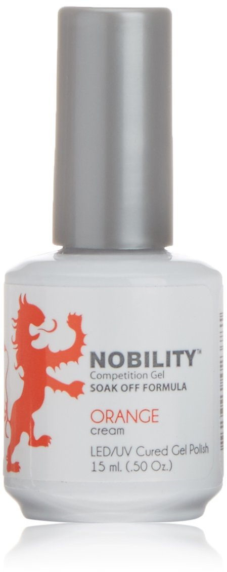LeChat Nobility Gel Polish - 15 mL (Orange - NBGP60)