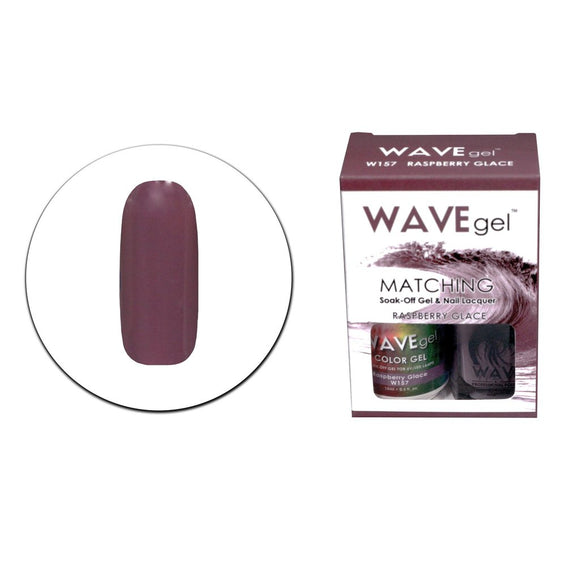 Wave Gel Matching Duo (Raspberry Glace - W157)