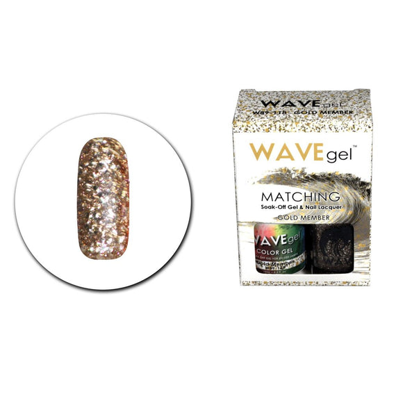 Wave Gel Matching Duo (Gold Member - W89118)