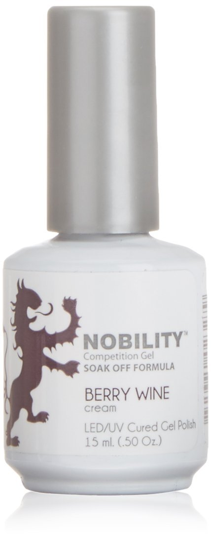 LeChat Nobility Gel Polish - 15 mL (Berry Wine - NBGP09)