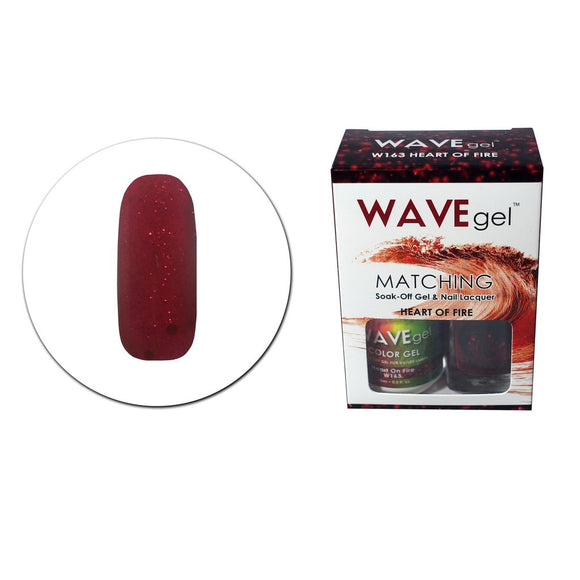 Wave Gel Matching Duo (Heart Of Fire - W163)